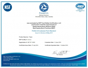 Food Sagety Certification